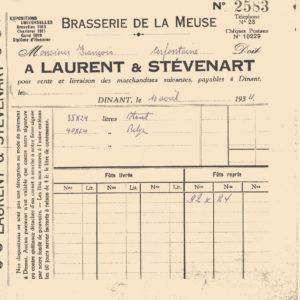 coll Warzee 1934