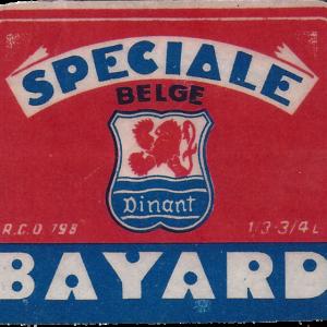 Etiquette Bayard - Spéciale Belge