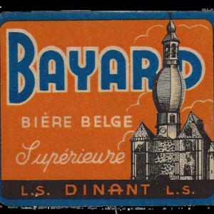 Etiquette Bayard - Bière belge Supérieure