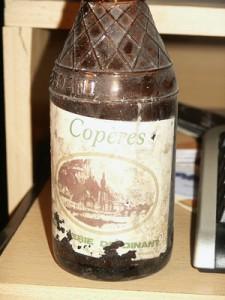 bouteille copère