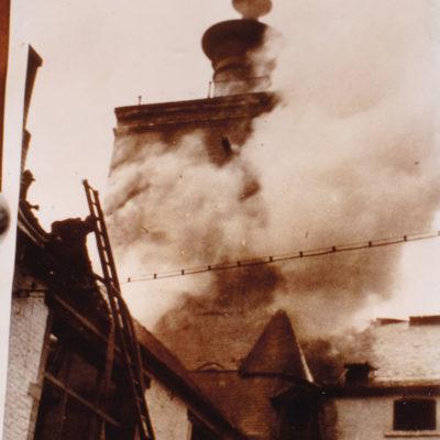 Incendie à la Malterie