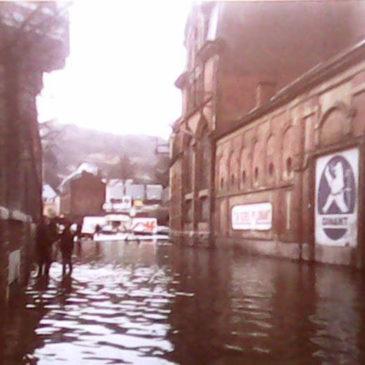 Inondation à Dinant