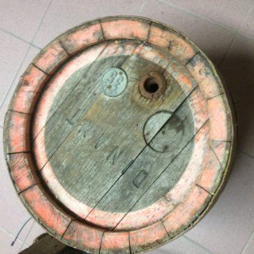Fût en bois (Coll Guy D.)
