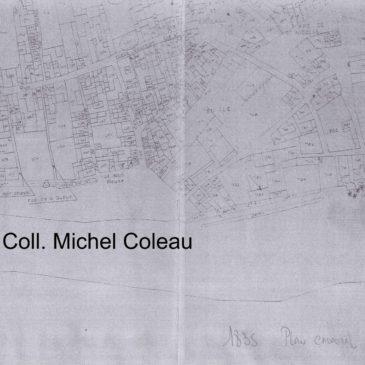 Plan cadastral de 1835, parcelle 733