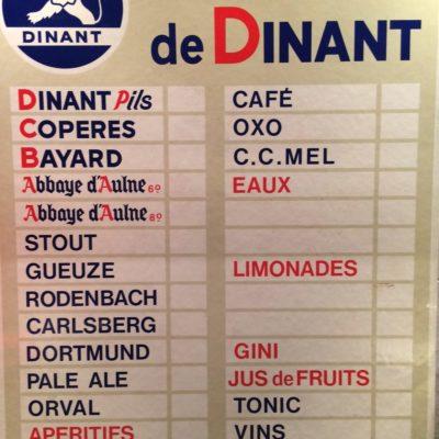Coll C Pessesse, Café la Capsule Dinant