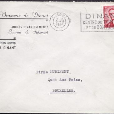 Enveloppe Brasserie de Dinant