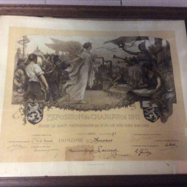 Exposition Charleroi 1911