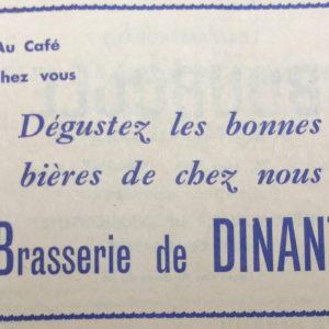 Publicité de la Féerie Sax du 10 au 31 décembre 1966 Coll Guy D