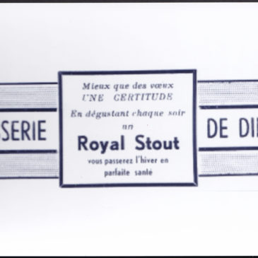 Publicité Royal Stout