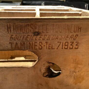 Casiers de 1954 (fait à Tamines)
